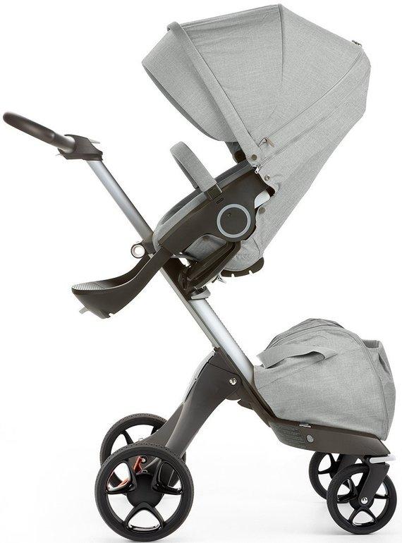 STOKKE® Xplory® V5 Kinderwagen mit Sitz und Einkaufstasche für 699€ statt 799€