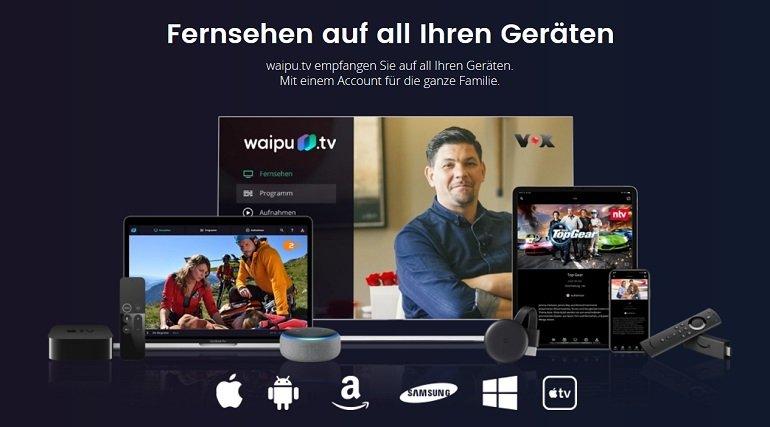 3 Monate waipu.tv Perfect