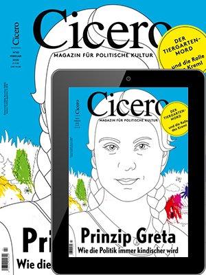 """Bis zu 4 Ausgaben """"Cicero Print & Digital"""" für 33,84€ + 33,84€ Verrechnungsscheck!"""
