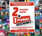 Media Markt: 2 Spiele kaufen + 1 Spiel geschenkt bekommen – auf fast ganze Games-Sortiment!