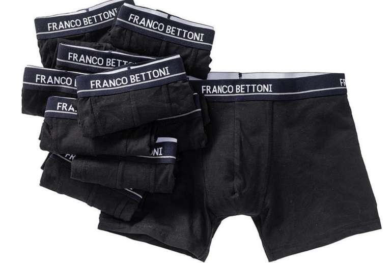 10er Pack Franco Bettoni Boxershorts für 29,99€ inkl. Versand (statt 40€)