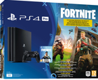 Sony PlayStation 4 (PS4) Pro 1TB - Fortnite Royale + Spiderman für 399€