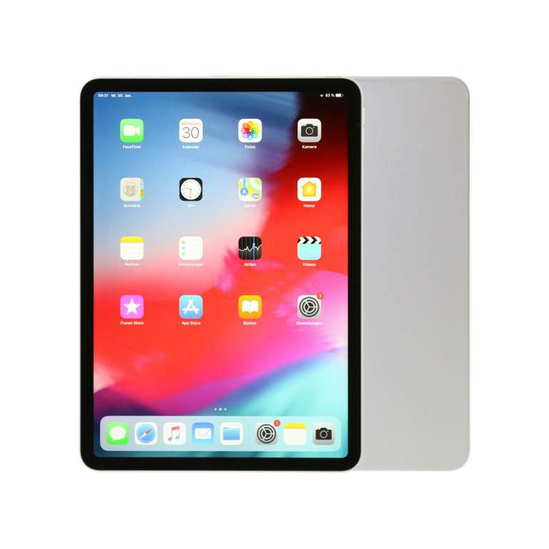 "Apple iPad Pro 2018 11"" mit 256GB WLAN (B-Ware, Wie Neu) für 688€ inkl. Versand"