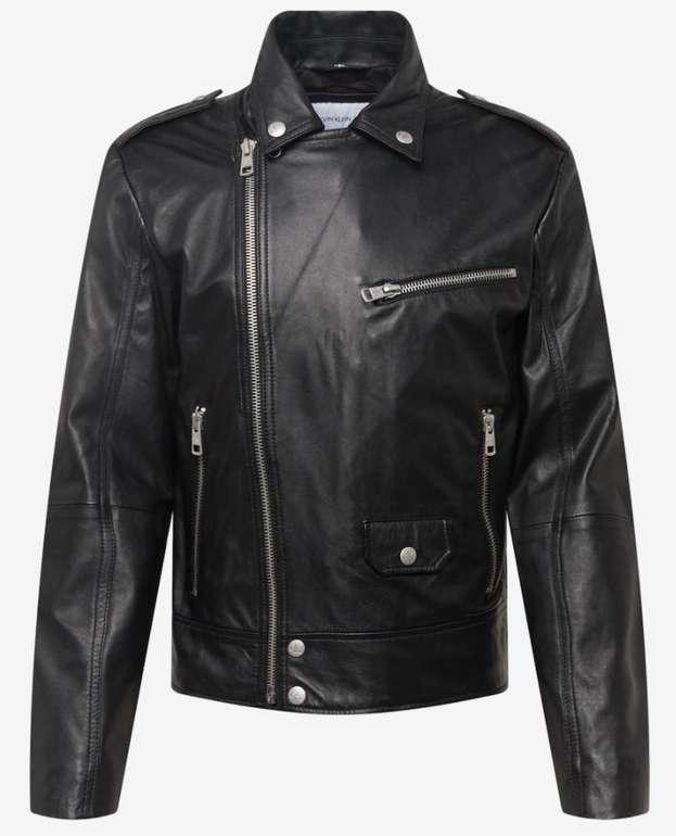 Calvin Klein Herren Leder Jacke für 319,51€ inkl. Versand (statt 399€)