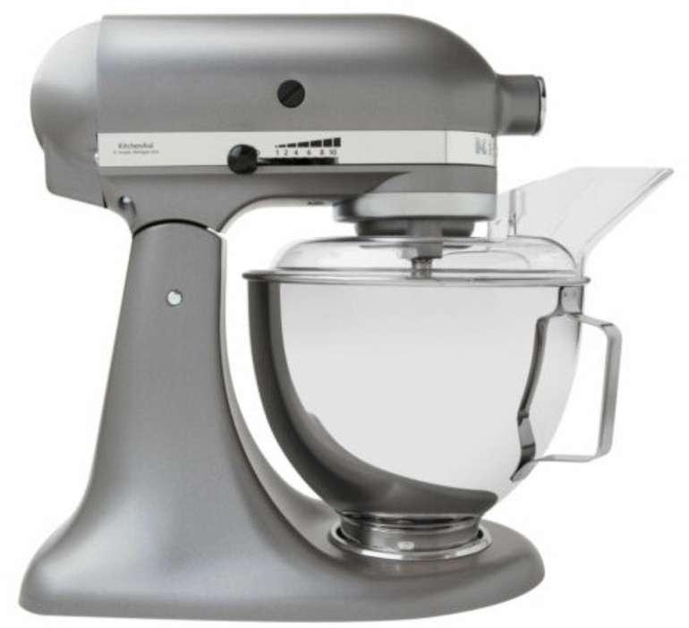 KitchenAid 5KSM45ESL Küchenmaschine (4,3 Liter, Direktantrieb) für 242,10€ inkl. Versand - B-Ware!