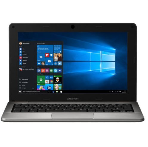"Medion Akoya S2218 11,6"" Laptop (Intel, 2GB, 32GB Flash, Win10) für 144,99€"