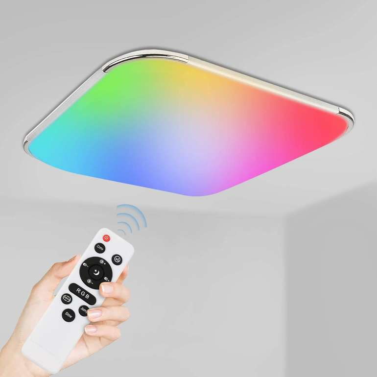 Vingo 36W LED Deckenleuchte (RGB, IP44) für 29,69€ inkl. Versand (statt 54€)