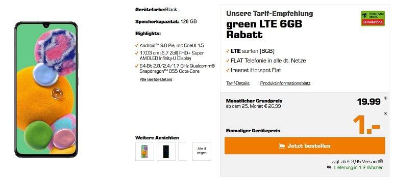 Samsung Galaxy A90 5G Vodafone Allnet-Flat 6GB LTE