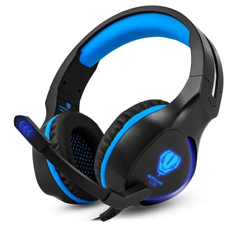 Butfulake Gaming Headset PS4, Xbox One, PC, Laptop, Tablet für 16,09€ mit Prime