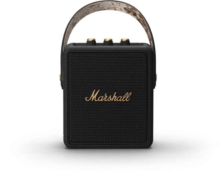 Marshall Stockwell II Bluetooth Lautsprecher mit 20W RMS & AUX-In für 125€ inkl. Versand (statt 199€)
