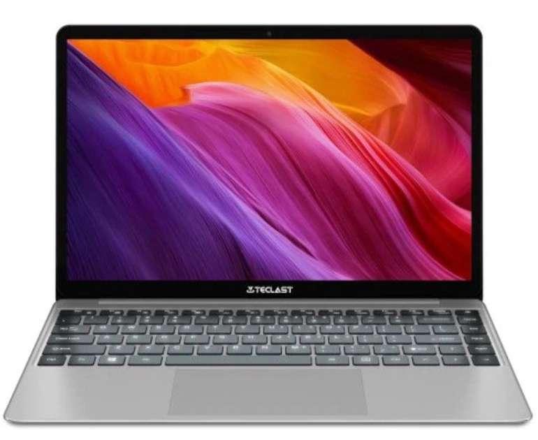 Teclast F7 Plus - 14,1 Zoll Notebook (Intel N4100, 8GB RAM, 256GB SSD) für 240,94€