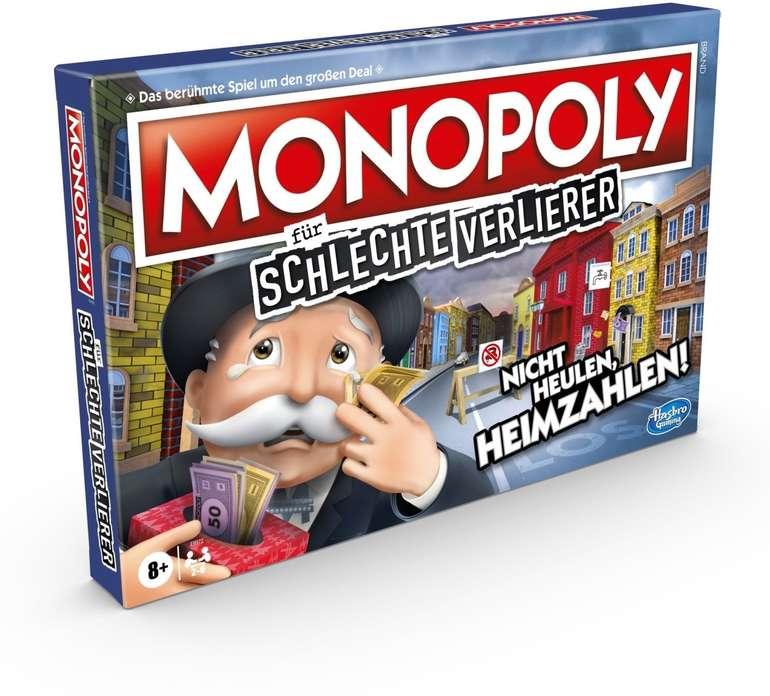 Monopoly für schlechte Verlierer Brettspiel (E9972) für 17,49€ inkl. Prime Versand (statt 26€)