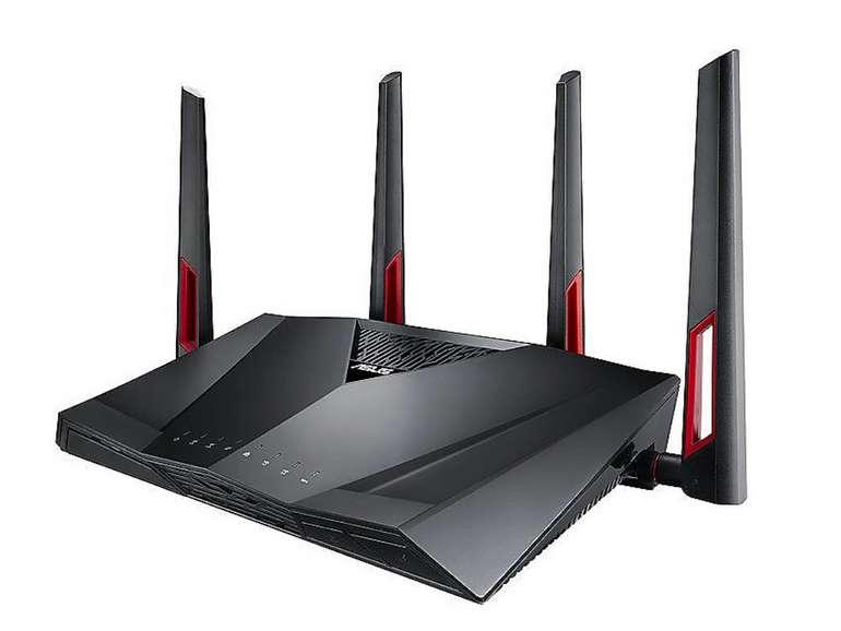 Asus RT-AC88U Dualband Wireless AC3100 Gigabit ac-Router für 149,90€inkl. Versand (statt 198€)