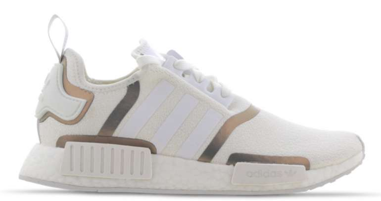 """adidas Originals Damen Sneaker """"NMD_R1"""" in weiß-metallic für 69,99€inkl. Versand (statt 96€)"""