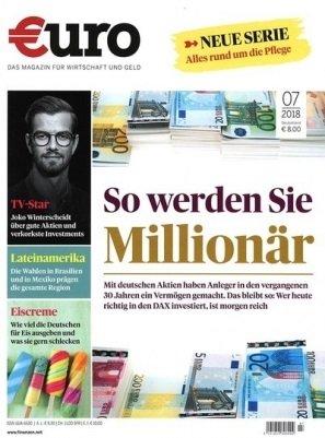 """Finanzmagazin """"Euro"""" im Jahresabo für 91€ + 85€ Bestchoice-Gutschein"""