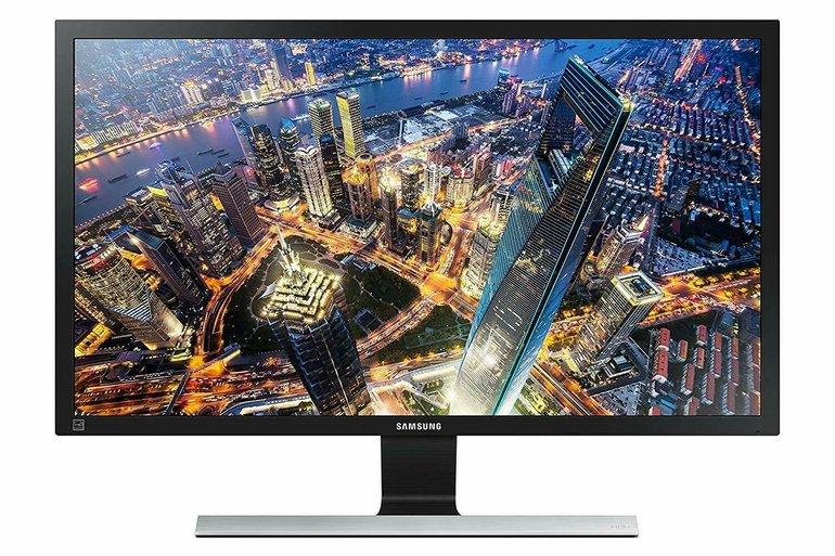 Samsung 28 Zoll UHD Monitor (U28E590D, TN-Panel) für 199€ inkl. VSK
