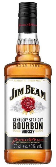 3 Flaschen Jim Beam Kentucky Straight Bourbon 0,7 Liter nur 29,99€(statt 39€)