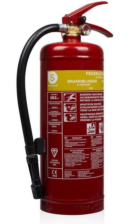 Smartwares SB3 Schaum Feuerlöscher 3 L für 23,90€ inkl. Versand (statt 30€)