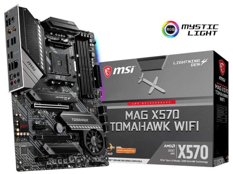 Msi Mag X570 Tomahawk Wfi Mainboard für 216,58 inkl. Versand (statt 248€)