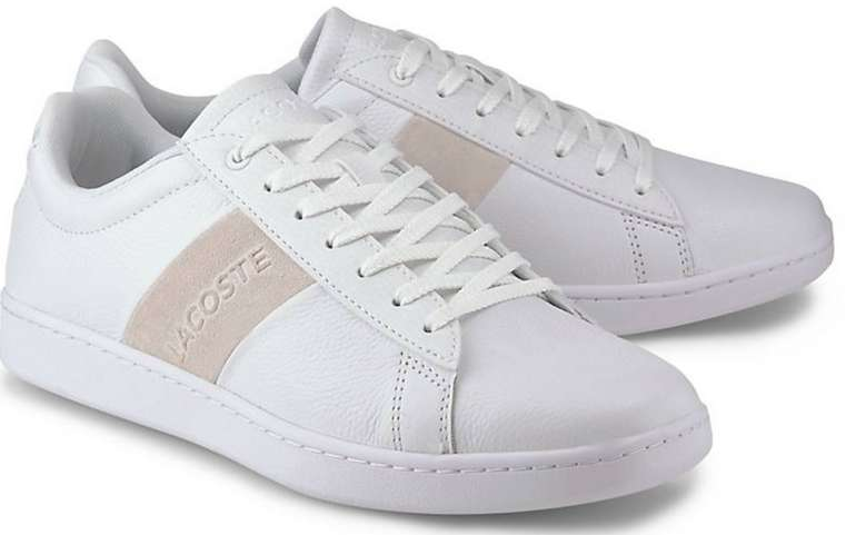 Lacoste Herren Sneaker Carnaby Evo 319 1 in Weiß für 48,40€inkl. Versand (statt 75€)