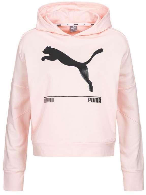 """Puma """"NU-TILITY"""" Damen Hoodie in rosa für 27,94€inkl. Versand (statt 36€)"""