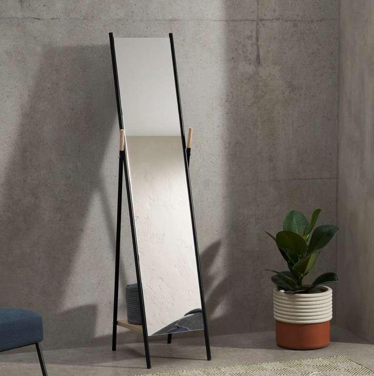 Huldra Spiegel mit Ablage in Schwarz für 75€ inkl. Versand (statt 159€)