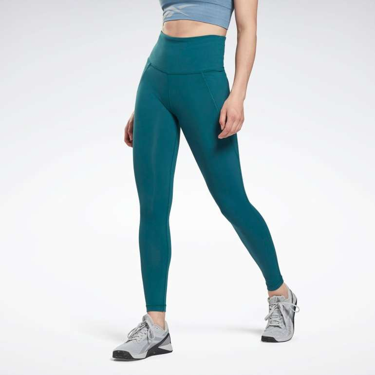 Reebok Lux High-Rise Leggings in drei Farben ab 25,02€ inkl. Versand (statt 55€)