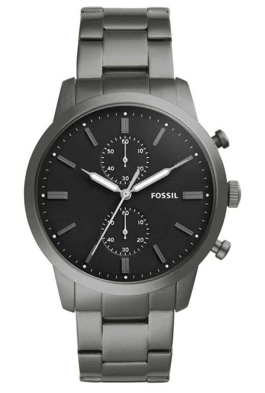 Fossil Herrenuhr Edelstahl FS5349 mit Stoppfunktion für 99,50€ inkl. Versand
