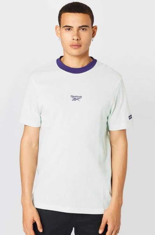 Reebok Classics Herren Shirt in Weiß/Blau für 10,36€inkl. Versand (statt 20€)