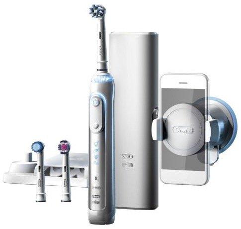 Oral-B Genius 8200 White elektrische Zahnbürste für effektiv 49,98€