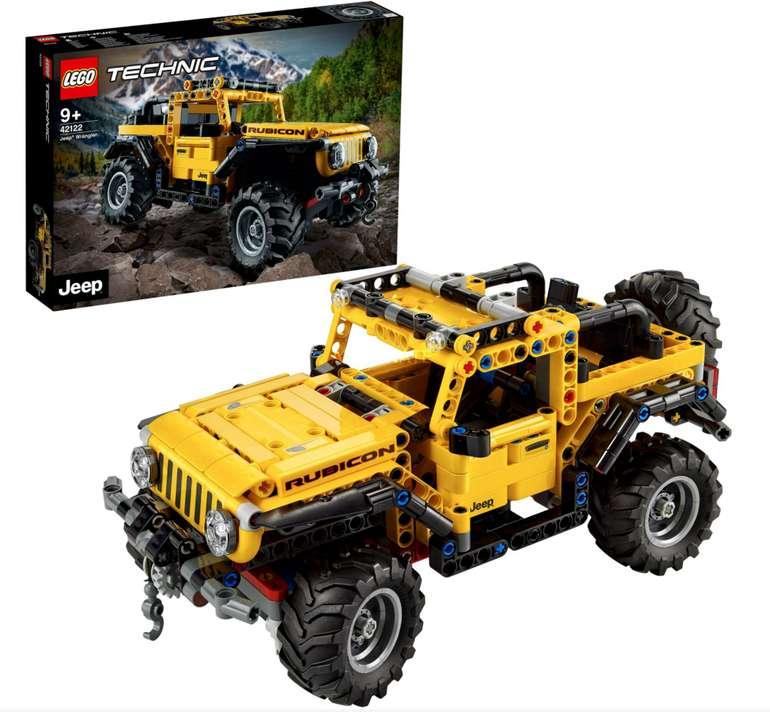 Lego Technic Jeep Wrangler (42122) für 31,99€ inkl. Versand (statt 35€)