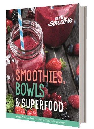MYSMOOTHIE MS 300 Smoothies, Bowls und Superfood Kochbuch für 4€ inkl. VSK