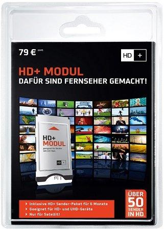 HD+ Modul inkl. Sender-Paket (6 Monate gratis) für 53,91€ inkl. Versand