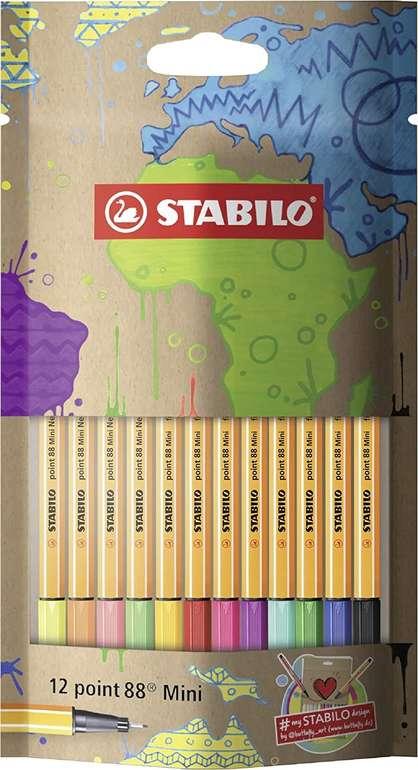 12er Etui Stabilo point 88 Mini-Fineliner #mySTABILOdesign Edition für 4,99€ bei Abholung (statt 9€)