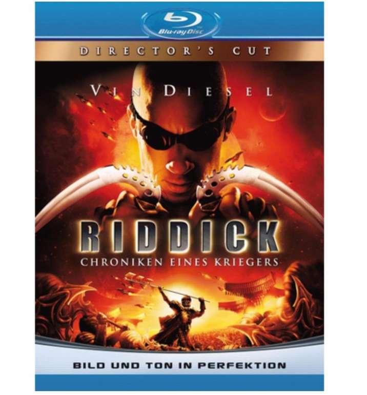 Riddick - Chroniken eines Kriegers (Director's Cut) (Blu-ray) für 3,66€ inkl. Versand (statt 8€)