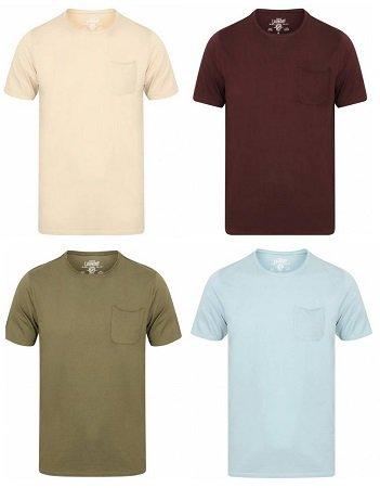 Schnell! Tokyo Laundry Zac Crew Herren T-Shirts nur 4,44€ inkl. VSK (!)