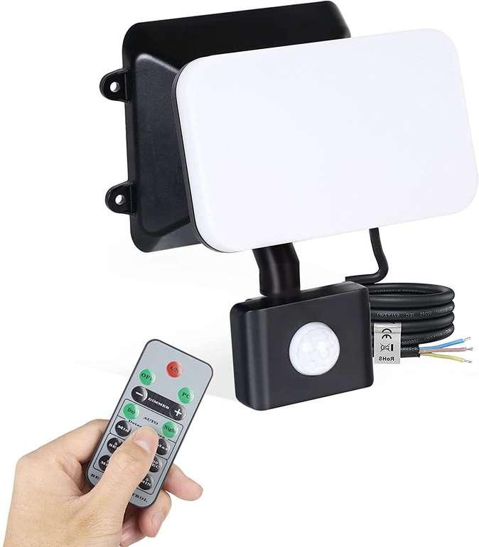 Lureshine 15W LED Strahler mit Bewegungsmelder für 15,89€ inkl. Prime Versand (statt 26€)
