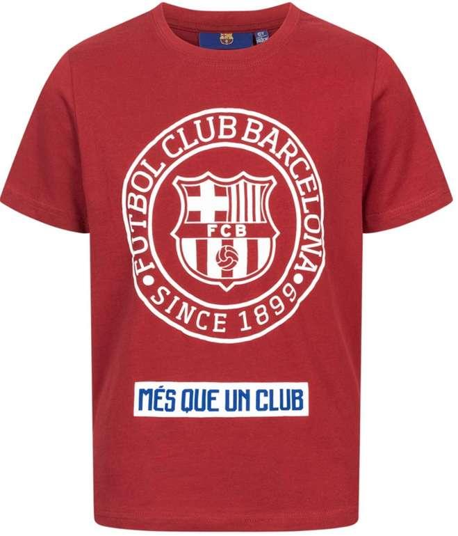 FC Barcelona Emblem Kinder T-Shirt Red für 7,30€ inkl. Versand (statt 12€)