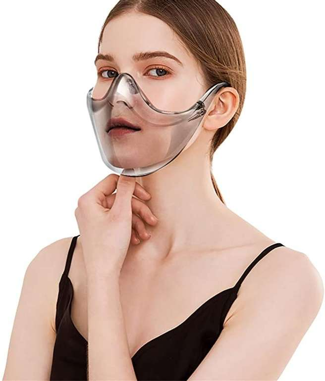 Eaylis transparente Kunststoff Mund-Nase-Maske ab 5,14€ inkl. Versand (statt 7€)
