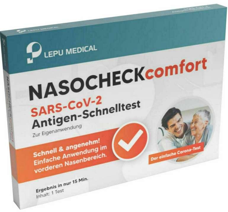 5x Corona Schnelltest Selbsttest Antigen für 7,97€ inkl. Versand (statt 13€)