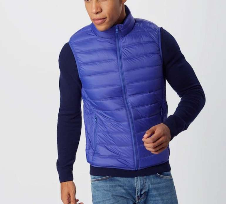 United Colors of Benetton Weste 'Gilet' in blau für 51,92€ inkl. Versand (statt 81€)