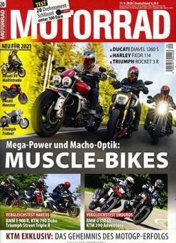 """DPV Herbstkampagne: Abos mit guten Prämien - z.B. Halbesjahr Abo """"Motorrad! für 51,65€ + 50€ Amazon.de"""