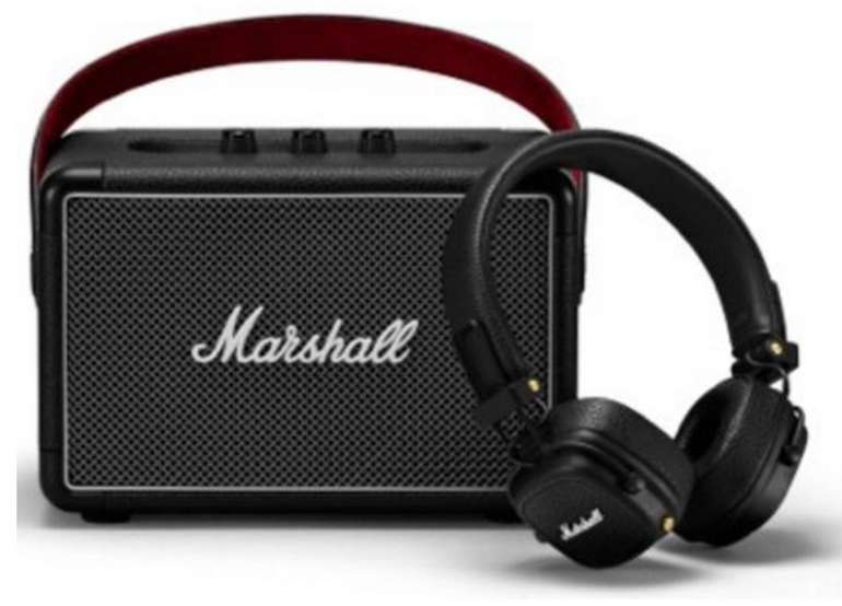 Kilburn II Bluetooth Lautsprecher + Major III Kopfhörer für 259€ (statt 305€)