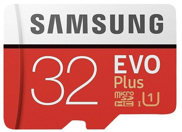 Samsung microSDHC EVO Plus 32GB für 5€ inkl. VSK (statt 7€)