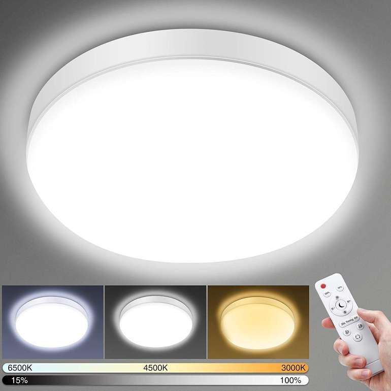 Elfeland 24W LED Deckenlampe (2200LM, IP54) für 15,59€ inkl. Prime Versand (statt 26€)