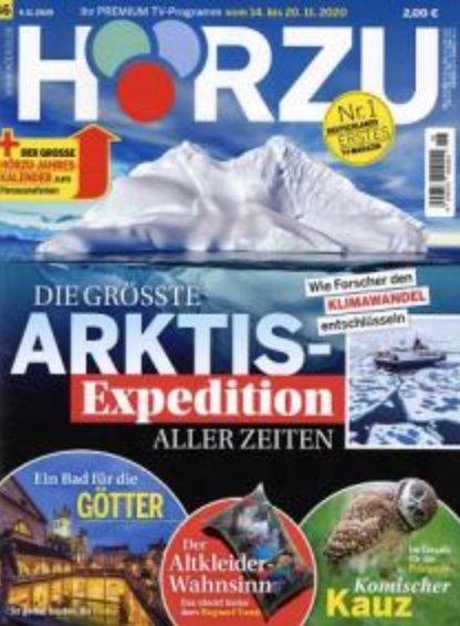 1 halbes Jahr HÖRZU mit digital Extra im Prämien-Abo für 65€ + z.B. 60€ Bestchoice Gutschein
