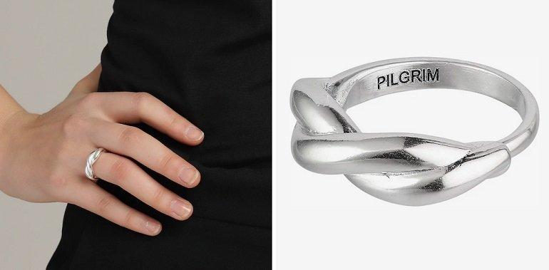 Pilgrim Ring 'Skuld' in Silber