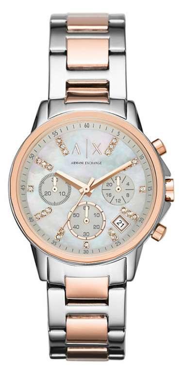 Armani Exchange Chrono (AX4331) Damenuhr in bicolor für 146,18€ inkl. Versand (statt 162€)
