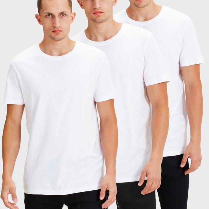 Jack & Jones: 20% Extra Rabatt auf den Sale z.B. 3er Pack T-Shirts für 23,15€
