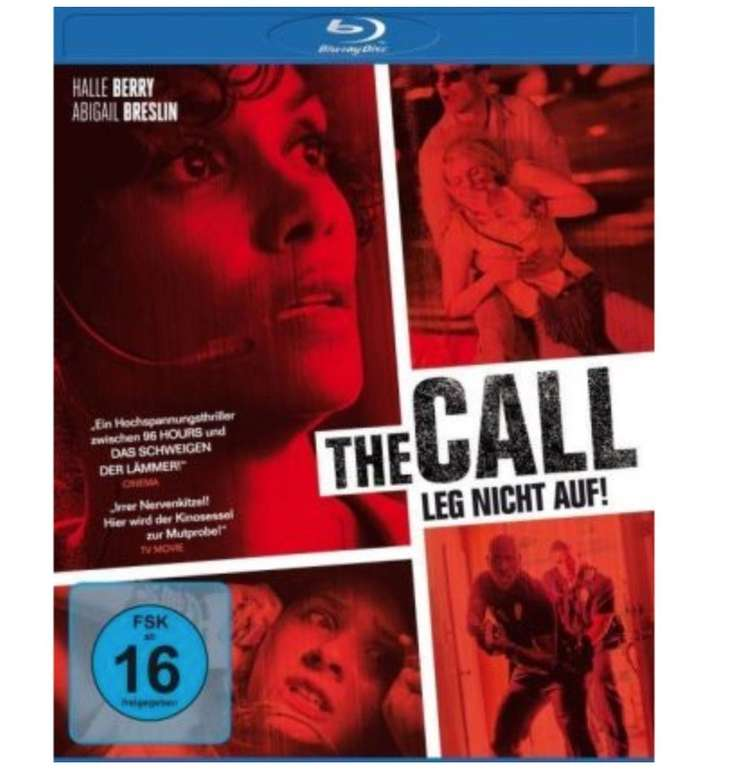 The Call - Leg nicht auf! (Blu-ray) für 3,97€ inkl. Versand (statt 10€)